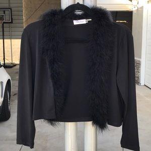 Flirty Calvin Klein black shrug. Size Medium